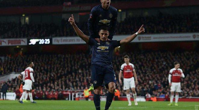 Манчестер Юнайтед переміг Арсенал в 1/16 фіналу Кубка Англії – Погба зруйнував план Емері, Сульшер відновлює традиції МЮ