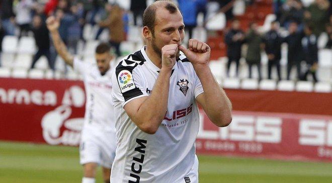 Агент Зозули сообщил, что нападающий имеет шанс остаться в Альбасете еще на один сезон