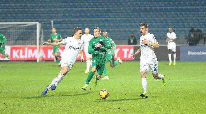 Різеспор Морозюка та Гладкого перервав 9-матчеву безвиграшну серію, сенсаційно обігравши Касимпашу