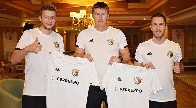 Ворскла оголосила про трансфер двох боснійських півзахисників