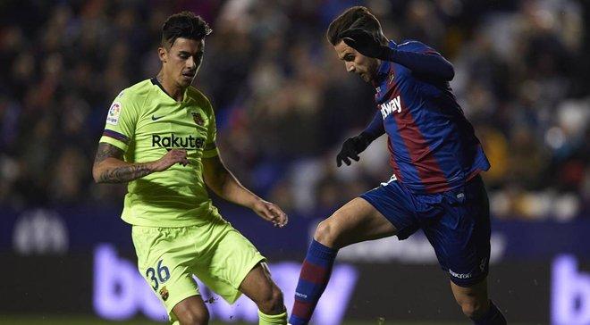 CAS відхилив апеляцію Леванте щодо дискваліфікації Барселони з Кубка Іспанії
