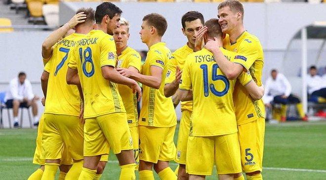 Украина проведет товарищеский матч со сборной Эстонии