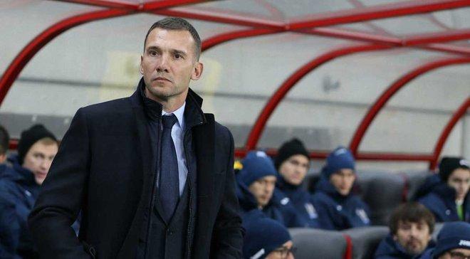 Шевченко відвідає матч Мілан – Наполі