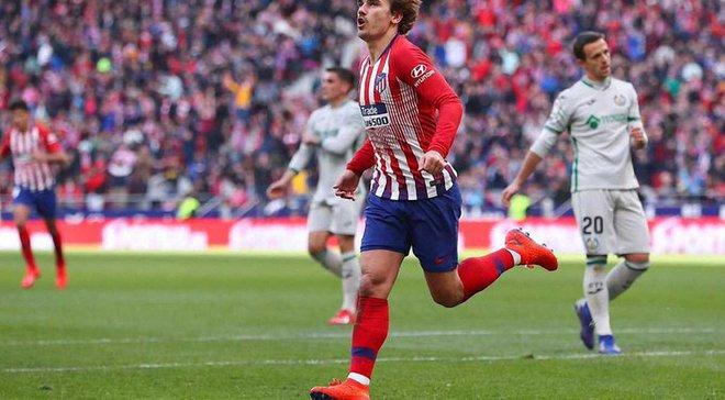 Атлетико – Хетафе – 2:0 – видео голов и обзор матча