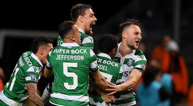 Спортинг завоевал Кубок португальской лиги, вырвав победу над Порту в серии пенальти
