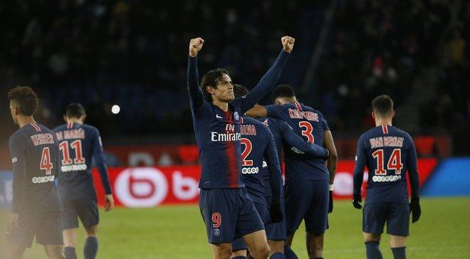 Лига 1: ПСЖ легко разгромил Ренн