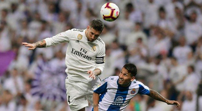 Еспаньйол– Реал Мадрид: стартові склади на матч Ла Ліги