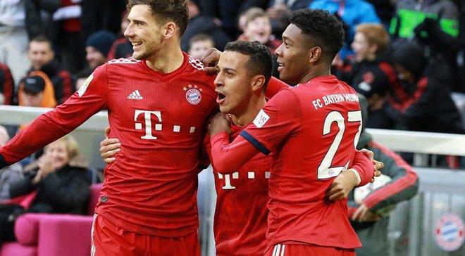 Бавария – Штутгарт – 4:1 – видео голов и обзор матча
