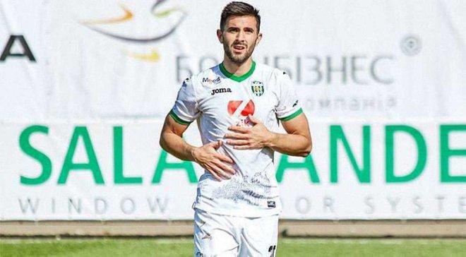 Роскошный гол Ди Франко в видеообзоре матча Карпаты – Ружомберок – 1:2