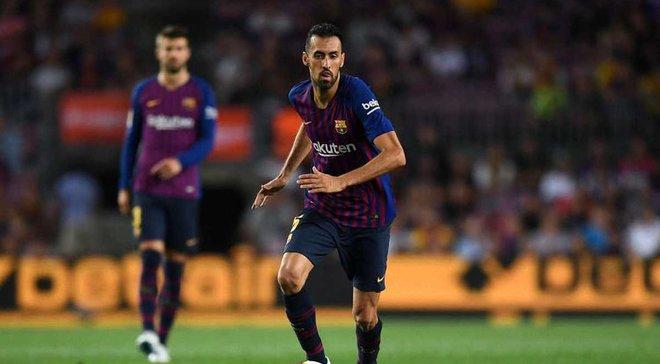 Бускетс: Барселона имеет хороший отрыв в чемпионате, но мы еще ничего не достигли