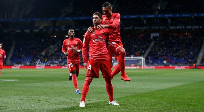 Рамос забил 50-й гол головой в футболке Реала