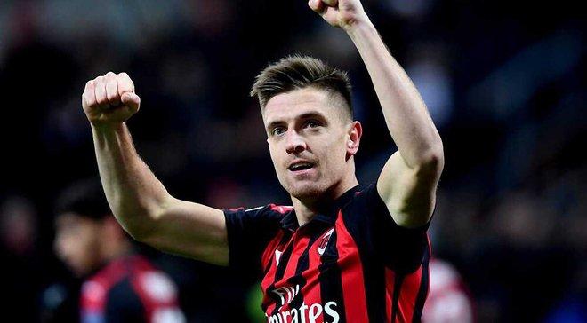 Первые голы Пйонтека в составе Милана против Наполи – видео голов и обзор поединка