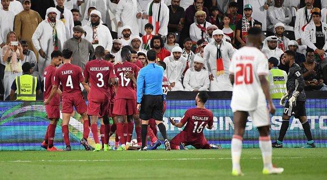 Кубок Азії: Катар у 1/2 фіналу розтрощив ОАЕ та розіграє трофей із Японією