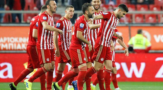 Соперник Динамо в Лиге Европы Олимпиакос разгромил Ларису