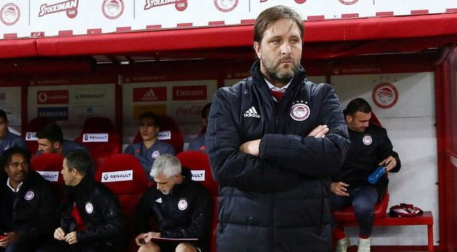 Наставник Олимпиакоса Мартинш: С такой игрой мы можем выиграть чемпионат и продвинуться в Лиге Европы