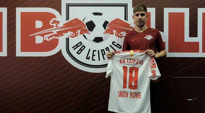 Арсенал отдал Смита-Роу, который забивал Ворскле в Лиге Европы, в аренду РБ Лейпцигу
