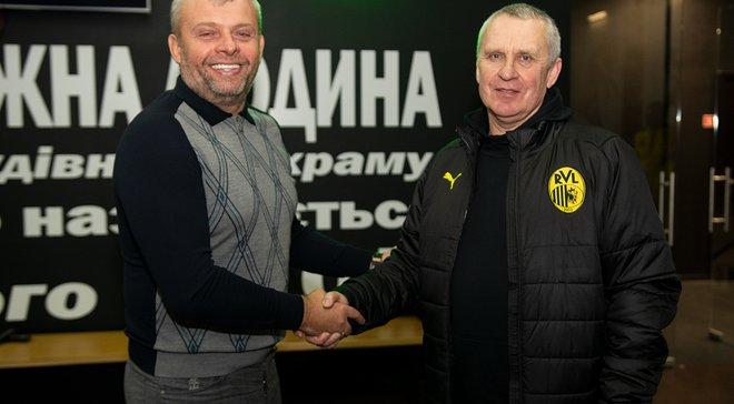 Рух представив Кучука на посаді головного тренера