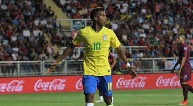 Форвард Реала Родріго  здійснив брутальний фол в матчі за збірну Бразилії U-20 на Копа Амеріка-2019