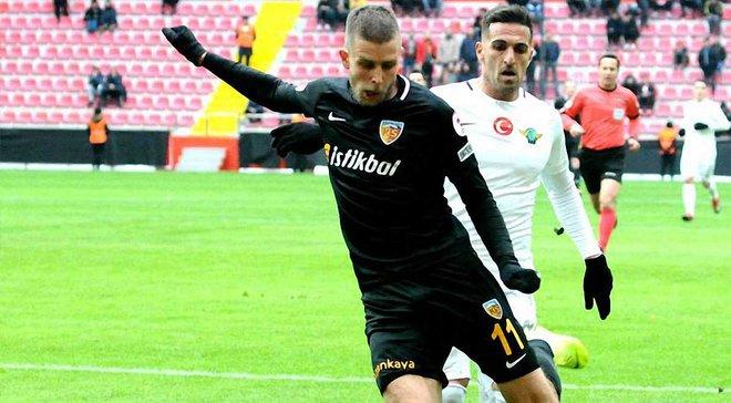 Кравець забив дебютний гол у сезоні Суперліги за Кайсеріспор – українець зупинив одного з лідерів