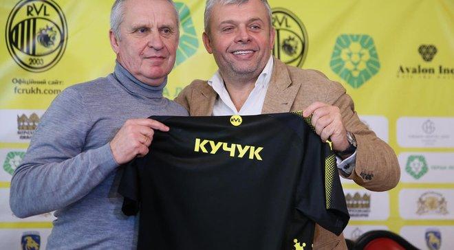 Козловський – про призначення Кучука: Ми отримали не просто тренера, а батька для футболістів
