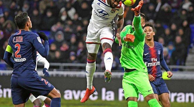 Ліга 1: Ліон завдав ПСЖ першої поразки в чемпіонаті, Нім і Монпельє зіграли внічию
