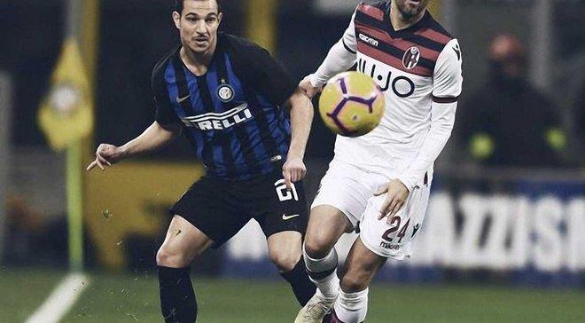 Інтер – Болонья – 0:1 – відео гола та огляд матчу
