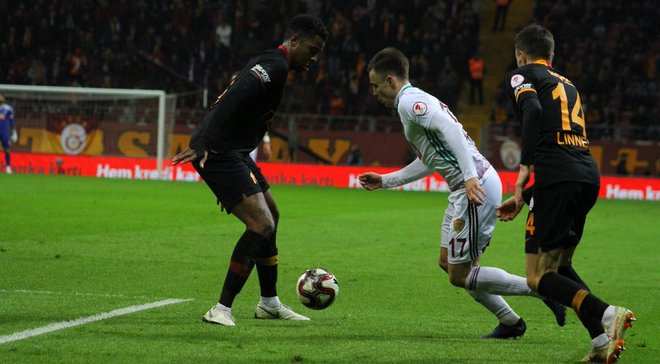 Кубок Туреччини: Коркішко не допоміг Хатайспору уникнути поразки від Галатасарая