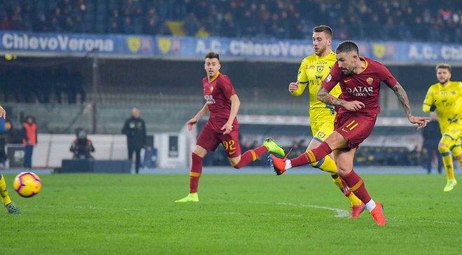 Кьево – Рома – 0:3 – видео голов и обзор матча