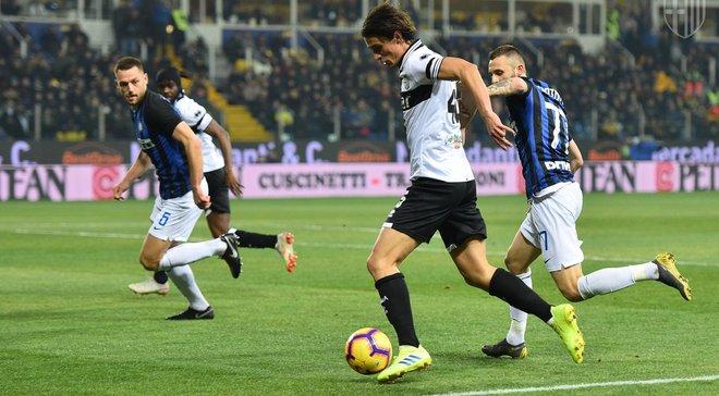Парма – Интер – 0:1 – видео гола и обзор матча