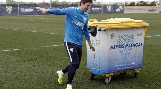 """""""Товстун Роналдо зараз в кращій формі, ніж Селезньов"""": фанати Малаги кепкують над українцем, який неприємно дивує"""