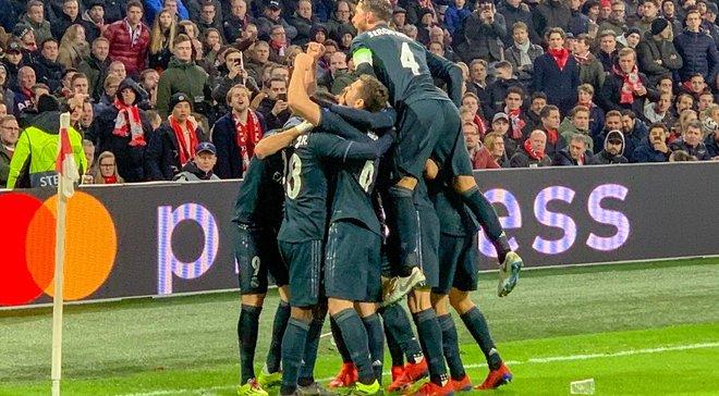 Реал на виїзді переміг Аякс
