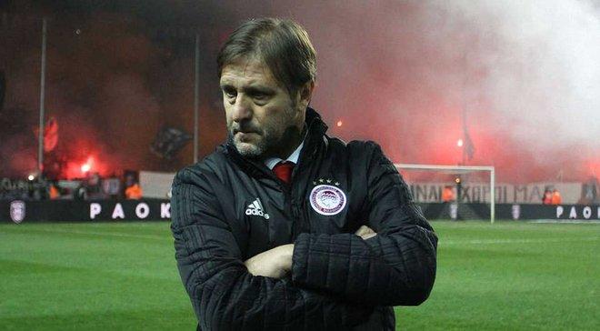 Тренер Олімпіакоса Мартінш – про поразку від ПАОКа: З Динамо ми повинні зіграти зовсім інакше