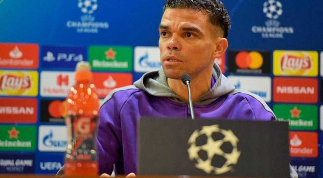 Пепе: Мы сделаем все, чтобы Порту играл в финале Лиги чемпионов