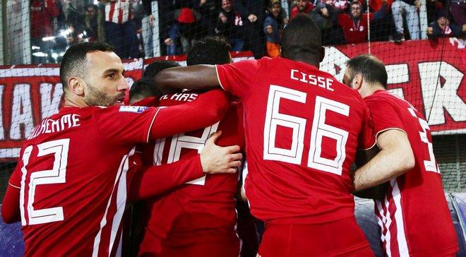 Олімпіакос розгромив АЕК Чигринського – Фортуніс оформив дубль перед матчем-відповіддю з Динамо