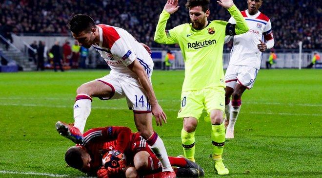 Лион – Барселона – 0:0 – видеообзор матча