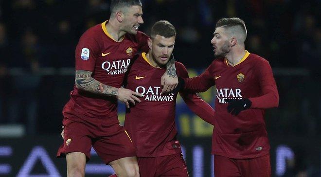Фрозіноне – Рома – 2:3 – відео голів та огляд матчу