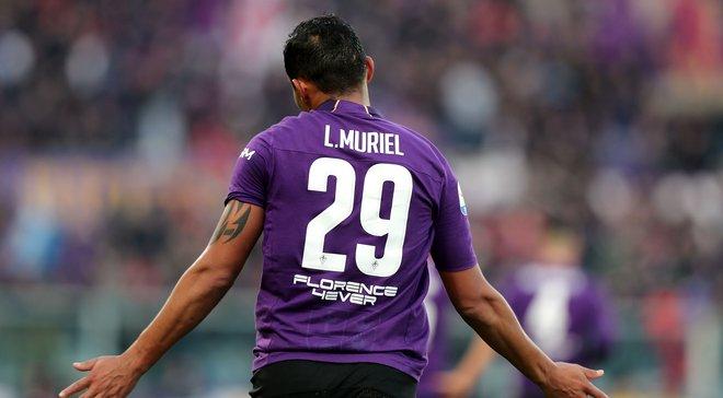 Фантастический удар Муриэля со штрафного в видеообзоре матча Фиорентина – Интер – 3:3