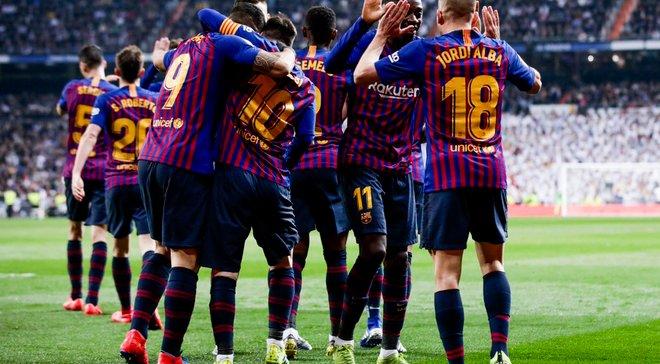 Реал – Барселона – 0:3 – видео голов и обзор матча