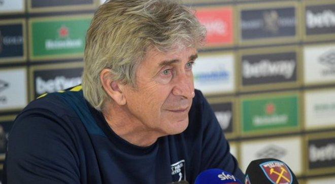 Пеллегріні: Я незадоволений результатом з Манчестер Сіті, пенальті не було