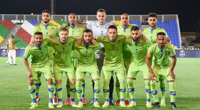 Коваль оставил ворота в неприкосновенности в поединке против Охода – Корзун стал лучшим игроком Аль-Фатеха в матче