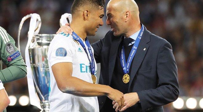 Каземиро назвал лучшего тренера Реала