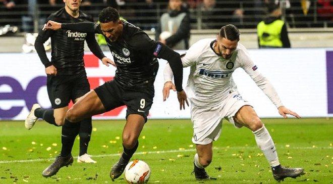 Айнтрахт – Интер – 0:0 – видеообзор матча