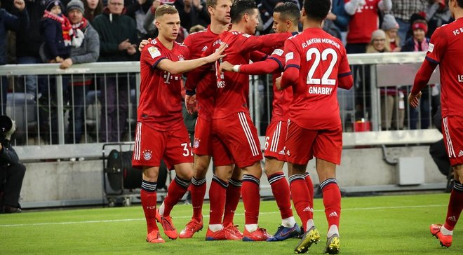 Футбол бавария вольфсбург видео голов