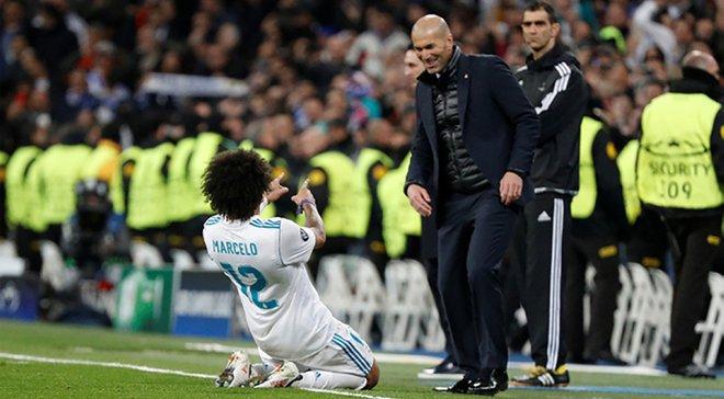 Зідан: Марсело має залишитись у Реалі