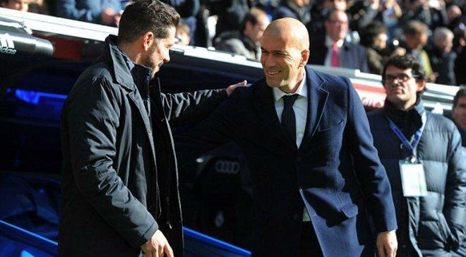 Зідан після повернення в Реал зароблятиме вдвічі менше, ніж Сімеоне