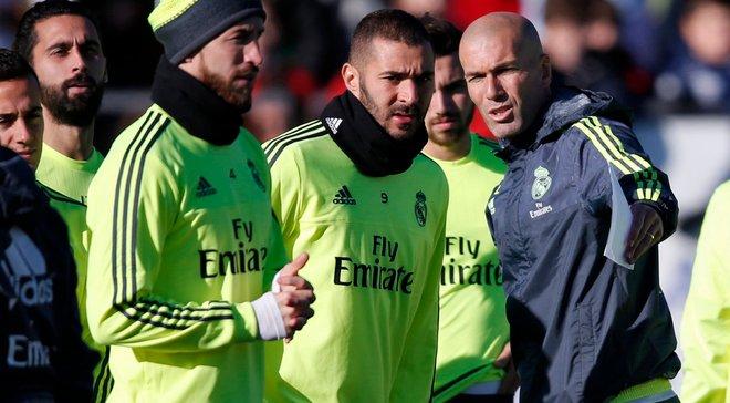 """""""Забудьте про минуле, ми починаємо з нуля"""", – Зідан звернувся до гравців Реала"""