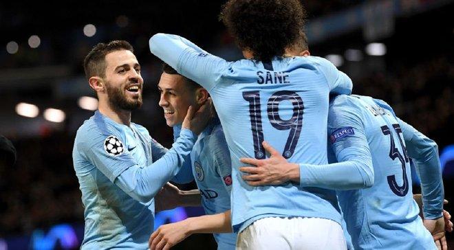 Чотири гравці Манчестер Сіті потрапили до символічної збірної тижня у Лізі чемпіонів