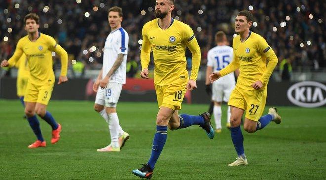 Динамо – Челсі: лондонці здобули найбільшу перемогу у двоматчевому протистоянні у єврокубках за 47 років