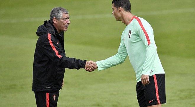 Сантуш оголосив заявку збірної Португалії на матчі з Україною і Сербією – доля Роналду вирішена