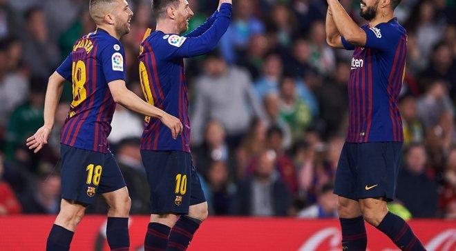 Бетис – Барселона – 1:4 – видео голов и обзор матча